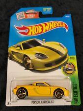 Hot Wheels 2016 HW Exotics Yellow Porsche Carrera GT