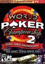 World Poker Championship 2: Final Table Showdown (PC-CD, 2006) - NEW in BOX