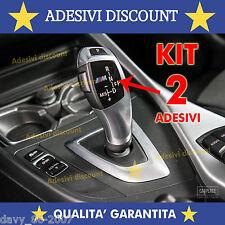 2 X BMW M Sport  PVC DECALCOMANIE BADGE ADESIVO BMW AUTO POMELLO CAMBIO cambio