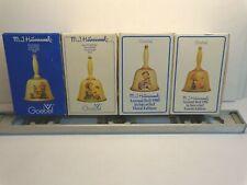 Goebel M.I. Hummel Annual Bells 1978,1979,1980,1981 Lot of 4 w/Boxes