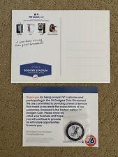 Vin Scully Final Homestand Postcard & 76 Pin Los Angeles Dodgers LA