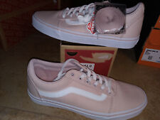 NEW $59 Womens Vans Ward Sepia Rose Shoes, size 11