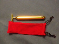 24k Gold BEAUTY BAR Facial Roller Serum Massage Derma Skincare Antiage Treatment