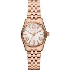 Michael Kors Ladies Watch Gold Strap  Gold Dial MK3230