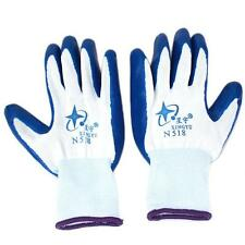 1Pair Nylon Nitrile Rubber Gloves Anti-static Palm Coated Work Safety Gloves LJ
