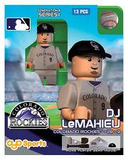 DJ LeMahieu OYO Colorado Rockies MLB Mini Figure NEW G4