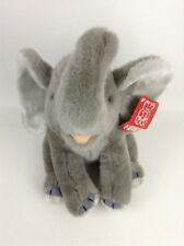 "Fiesta Elephant 92311 10"" Plush Stuffed Animal Toy with Tags Vintage 1996"
