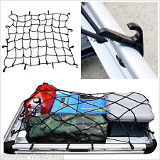 700x700mm Large Car Boot Van Truck Cargo Net Bungee Hooks Luggage Roof Rack