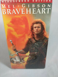 Brave Heart VHS Tape  Wide Screen 2-Tape Collection Mel Gibson NEW
