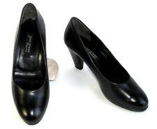 PAUL GREEN - Chaussures talon 7.5 cm tout cuir noir 4 37 - EXCELLENT ETAT