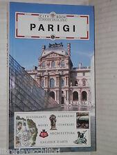 PARIGI City Book Corriere della Sera 2005 libro viaggi manuale corso saggistica