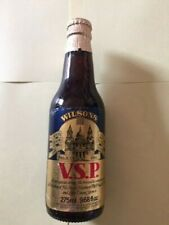 WILSONS BREWERY V.S.P. ROYAL WEDDING ALE FROM 1981