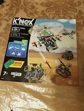 Knex instruction booklet only Combat Crew 5-in-1
