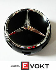 Mercedes-Benz E-Class W212 A45 AMG Edition Black Sport Wheel Hub Caps Genuine