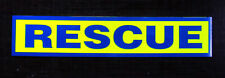 Rescue Reflective / Fluorescent Sticker