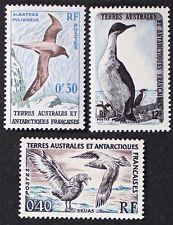 Z361 FSAT TAAF Fr. Southern Antarctic 1959 #12-14 Birds Mint Lightly Hinged VLH