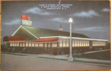 1940 Postcard: Curry's Garden Restaurant - Margate/Atlantic City, New Jersey NJ