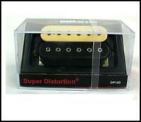 DiMarzio DP100 Super Distortion Humbucker Guitar Pickup - Black/Cream
