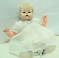 """Vintage 14"""" Madame Alexander Lively Kitten doll tagged dress she moves her head"""
