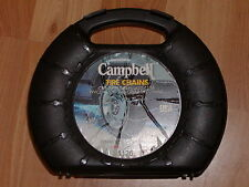 SNOW/TIRE CHAINS, CAMPBELL #1126,  P205/60R14, 215/50-14, P205/50R15, 205/55-15