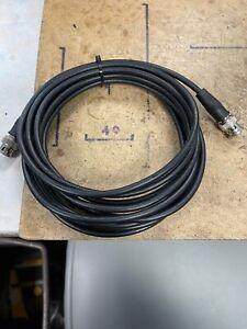 5 x RG58 50Ω BNC-BNC RF Cables, Various Sizes.