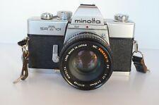 Minolta Srt 101 35mm Slr Film Camera with Rokkor-X 50mm F/1.17- Nice Camera.