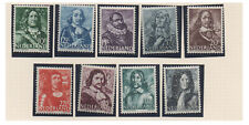 Netherlands - Postage stamps - 1943 -1944 Dutch Naval Heroes -MH