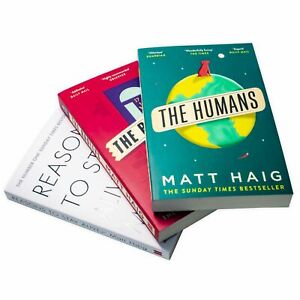 Matt Haig 3 Books Collection Set- Humans, Reasons to Stay Alive, The Radleys