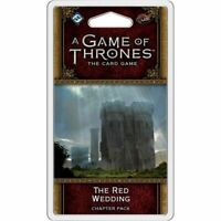 A Game of Thrones LCG: The Red Wedding Chapter Pack. New & Sealed