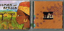 New Dawn by Waaberi (Jul-1997, Emi/Realworld) + Women of Africa (Putyamo)