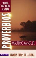 Proverbios: SabidurÃa para el dÃa (Grandes Libros de la Biblia) (Spanish Edition
