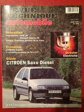 Revue Technique Automobile CITROEN Saxo Diesel