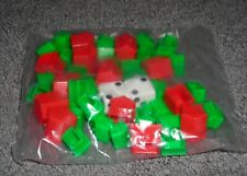 MONOPOLY GAME HOUSE AND HOTELS DICE