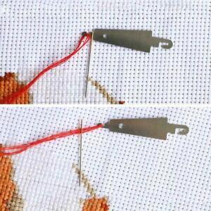 1/30pcs Cross-Stitch Threading Hooks Needles Threader Accessories Stitch  Fast.