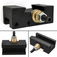 "1/4""-1/2"" Mini Lathe Quick Change Tool Post Facing Milling Turning Tool Holder"
