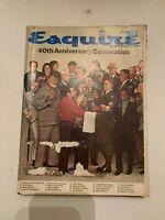 October 1973 Esquire Magazine 40th Anniversary Celebration