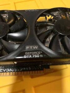 EVGA GeForce GTX 750 TI FTW w/ ACX Cooling-2GB GDDR5 Graphics Card