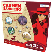 NEW Carmen Sandiego Board Game Walmart Exclusive Acme's Most Wanted