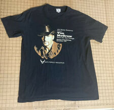 """Tim McGraw """"Tour For The Troops� Concert T Shirt Us Air Force Reserves Xl"""