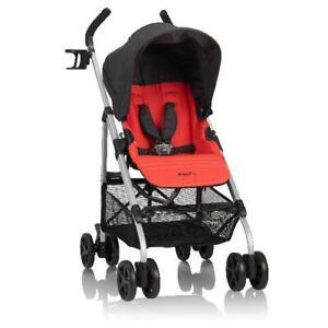 Evenflo Urbini Reversi Lightweight Stroller, Red