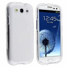 Clear Transparent Snap-On Hard Case Cover For Samsung Galaxy S3 III i9300 i747