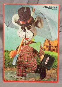 Vintage Huggies Frame Tray Puzzle