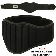 "Weight Lifting Belt Gym Back Support Fitness Neoprene 8"" Wide (8 inch)"