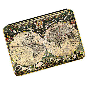 Vintage Old World Map #1 Kindle Paperwhite Touch PU Leather Flip Case Cover