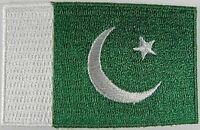 Pakistan Aufnäher gestickt,Flagge Fahne,Patch,Aufbügler,6,5cm,neu