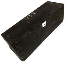 Exact Piece Gabon Ebony Wood 4x4x12 Guitars Furniture Turntable Feet