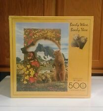 FX Schmid Bearly Where Bearly There 500 Piece Jigsaw Puzzle