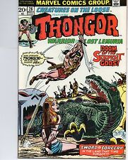 creatures on the loose #26 comic thongor nov 1973 marvel very fine