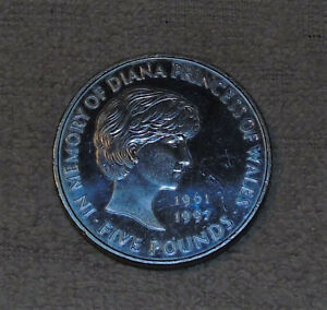1999 £5 COIN PRINCESS DIANA MEMORIAL.