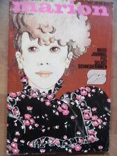 MARION September 9 - 1973 Mode-Journal + Schnittmuster